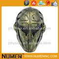 Ouro completa rosto arame cavaleiros templários Army of Two máscara paintball airsoft