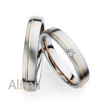 AGR0008 Rose Gold Line fashion jewelry big rings Single Diamond bulgari ring