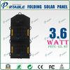 pet solar panel 3.6W usb foldable mini solar power charger bag for power bank