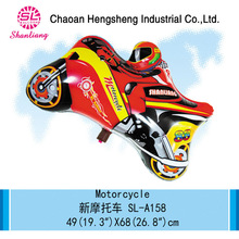Hot selling cartoon inflatable motorcycle