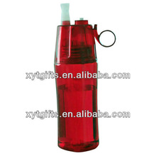 Cool Mist&Drinking 'N Sip 16.5 Oz Fancy Plastic Water Bottle in Any Color