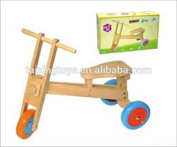 Wooden Three Wheels Ride On Bike/Bicycle Kids Walker/Tricycle/Cars Toys