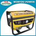 1500w/1.5kw gasline geradores 220 mini gerador portátil