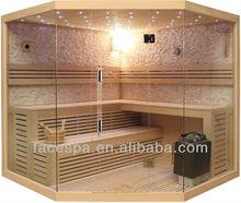 Diamond sauna room indoor Sauna steam room FS-1101A/B/C