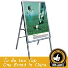 hard plastic a-frame signs/outdoor sign board/plastic poster board--A07