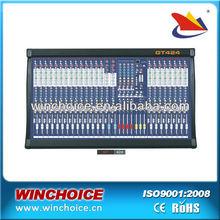 24 input channels professional digital audio mixer GT424