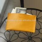 Leather credit card holder case