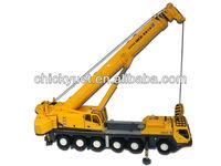 1:50 scale diecast metal construction truck crane model