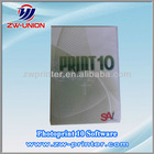 Photoprint RIP Software used for infiniti solvent printer