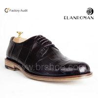 Upscale classic crocodile shoes men