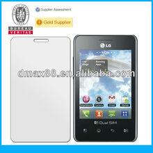 Japan Material!! anti-glare screen protector / screen film / screen shield for LG Optimus L5 II E450 oem/odm