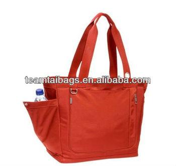 Fashion nylon travel tote bags for ladies