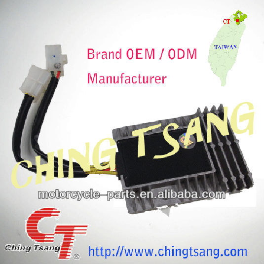 chinese scooter motorcycle racing spare part regulator rectifier for motorcycle scooter mopad
