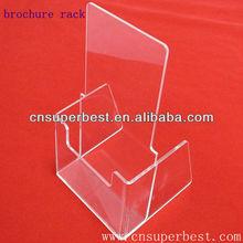 Clear acrylic one pocket brochure & flyer holder