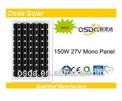 cheap pv solar panel / low price solar panel 150w