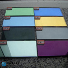 High quality colored mirror glass sheet
