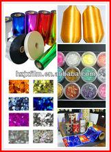 Pet Rainbow Film yarn grade/glitter sequins