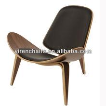new design plane model shell chair living room