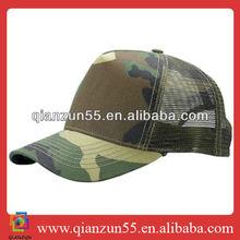 new 5 panel mesh trucker hat cap army camo wholesale baseballs cap and hat
