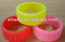 2013 new fashion Silicone finger ring for promotional products