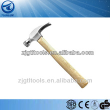 Wooden Handle Puming Tools claw hammer