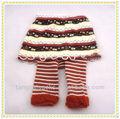 moda raya sin pies del bebé lactante leggings pantalones apretados