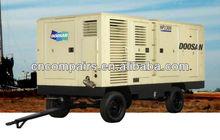 1500cfm 25bar Ingersoll-Randdiesel high pressure air compressor portable/diesel portable air compressor/diesel mining air compre