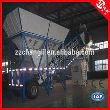Popular Design YHZS75 Hauling concrete mixing plant,mobile hot mix plant,mobile mini asphalt plant