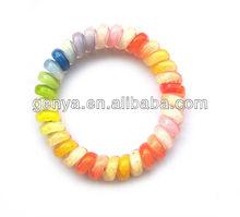 Fashion phone line Bracelet/ spiral bracelet spiral hair band