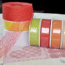 2015 Wholesale Festival decorative mesh ribbon