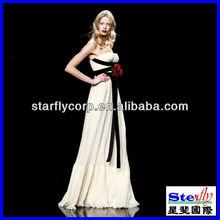 OEM wedding and evening dress off-shoulder (ST-SK-004)