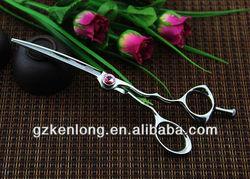 2013 Newest Ergonomic Unique Design Curved Hair Cutting Scissor