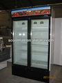 Congelador de pié / congelador/ congelador para helados, comida congelada