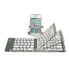 Aluminum Foldable Wireless Bluetooth Keyboard For Ipad Mini