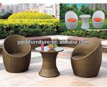 Foshan ued egg chairs garden sets design furniture (YPS029)