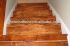 Asian walnut wood stair cases