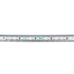 HUGEWIN upgraded 840LM 220V 3530 120leds per meter LED strip waterproof