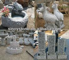 stone animals sculptures