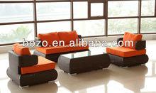 Rattan furniture body design rattan sofa