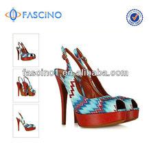 fashion women high heel platform sandals 2014