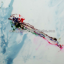 Modern Handmade Paintings on Glass