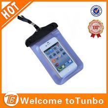 PVC waterproof bag for mobile phone