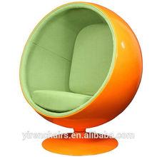 Fiberglass Swivel Ball Chair Eero Aarnio chair
