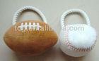 Ball shape Pet stuffing dog / cat toys