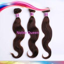 Noble Queen Body Wave Human Hair 5A Brown Color Weave Human Hair Wholesale Malaysian Virgin Human Hair