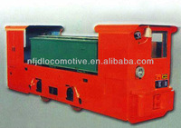 CTL 8 narrow gauge mining battery locomotive double cab