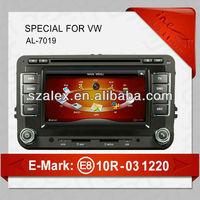 car shape speaker gps autoradio for volkswagen/skoda/sert (AL-7019)