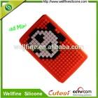 Blocks design silicone cover for i pad mini