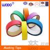 Colorful masking crepe paper tape, masking tape