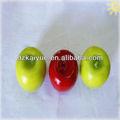 lebendige fruchtform dekorative früchte kerze